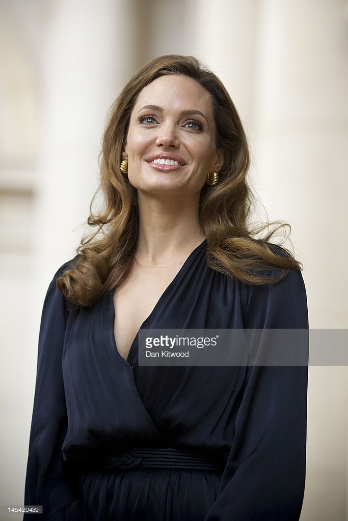 Actress Angelina Jolie arrives to meet government ministers ahead of a screening of her new film 'In the Land of Blood and Honey' at the Foreign Commonwealth Office (FCO) on May 29, 2012 in London, England. Angelina Jolie spoke on the Foreign Secretary's initiative on preventing sexual violence in Conflict, ahead of the screening.