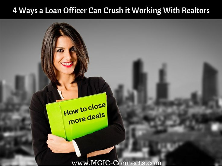 4 ways a loan officer can crush it working with real estate agents https