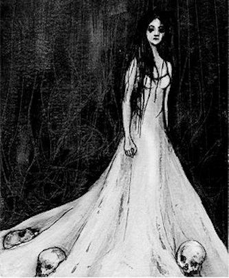 La Llorona (The Weeping Woman) was a popular Latin American folklore which tells a story of a woman who was scorned by her lover. As payback, she drowned her children, fathered by her lover, at a nearby river. When she realized what she'd done, she committed suicide. As punishment, she was now forced to wander the earth, forever crying in search of her missing children. Children are warned not to venture out after dark, for fear that La Llorona would kidnap them to replace her missing…