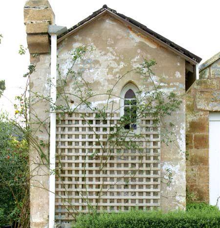 exterior wall treatment