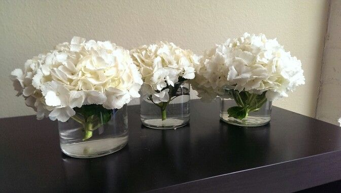 Repurpose empty Bath and Bodyworks candle jars as a flower vase. Tip: freeze jars to easily remove last bit of remaining candle wax. use rubbing alcohol to remove sticker and wax residue.