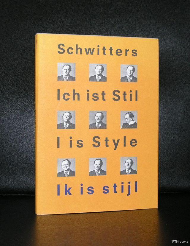 Stedelijk , Kurt Schwitters #IK IS STIJL # 2000, mint