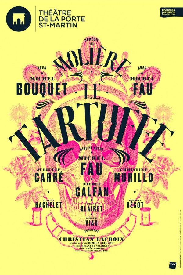 Le Tartuffe avec Michel Bouquet et Michel Fau - Théâtre de la Porte Saint-Martin