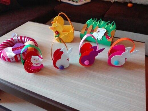 Decorațiuni handmade Paste ,preturi incepand de la 10 lei buc