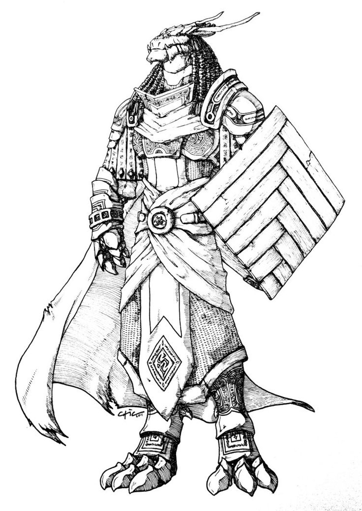 female dragonborn coloring pages - photo#17