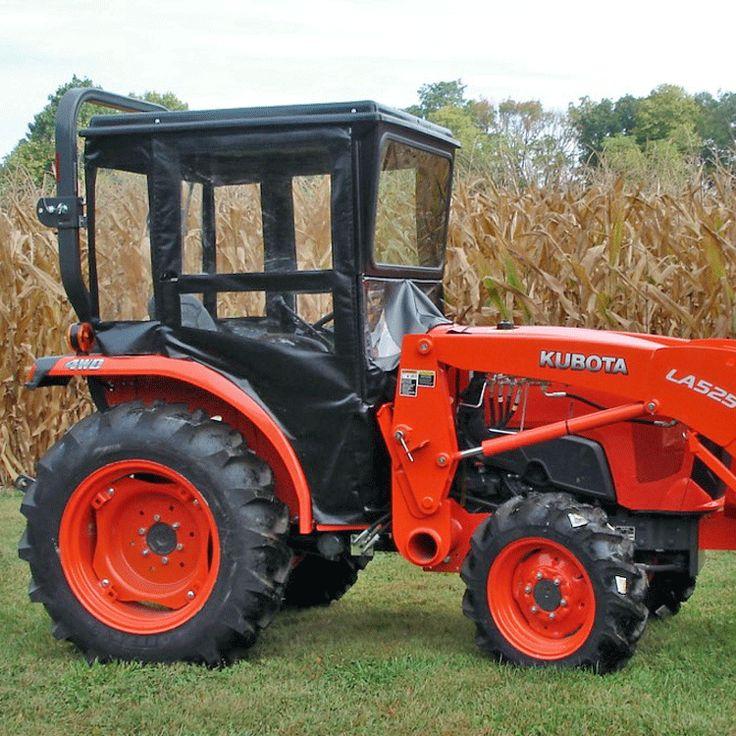 Kubota Tractor Cab For L SERIES - L2501, L3301 & L3901