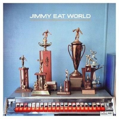 This is an Enhanced CD which contains regular audio tracks, multimedia computer files and a link to the artist's website with the help of a web browser. Jimmy Eat World: Jim Adkins (vocals, guitar, pi
