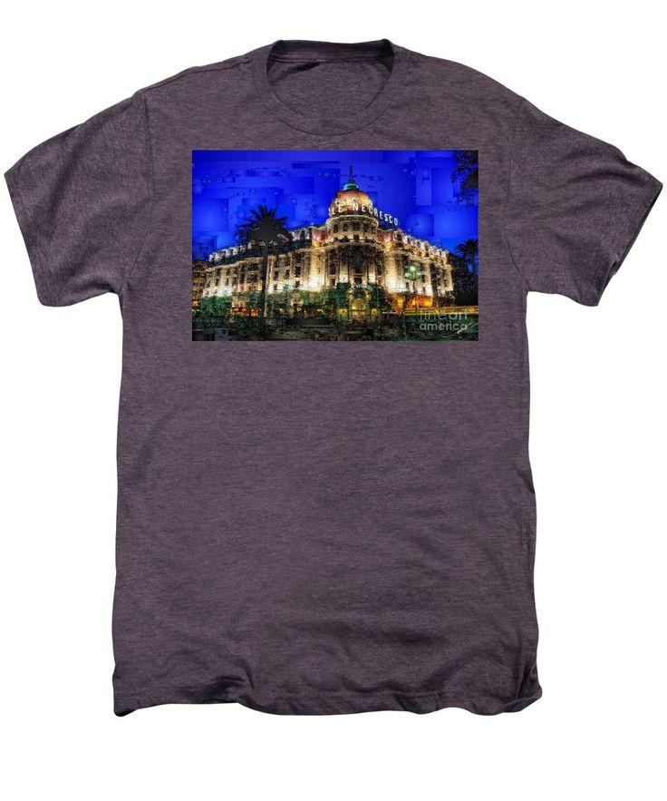 Men S Premium T Shirt Le Negresco Hotel In Nice France