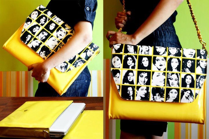 Yellow diva bag