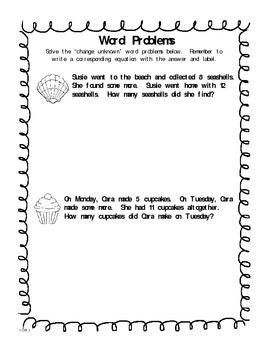 math worksheet : 1000 images about 1 0a 1 on pinterest  word problems common  : First Grade Common Core Math Worksheets