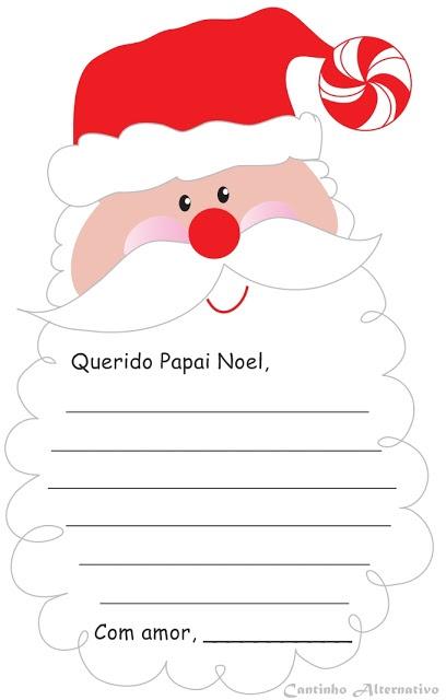 Estimule a escrita e a produção de texto fazendo uma  cartinha uma bela cartinha para o Papai Noel.  http://cantinhoalternativo.blogspot.com.br/2012/12/cartinha-para-o-parai-noel-para-imprimir.html