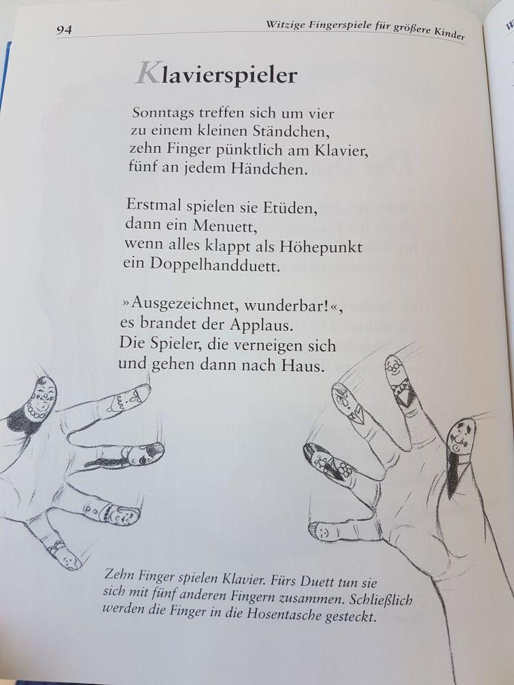 Klavierspieler #fingerspiel #krippe #kita #kindergarten  #kind #reim #gedicht #erzieherin #erzieher