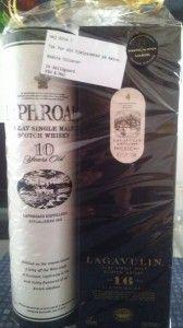 Laphroaig og Lagavulin whisky