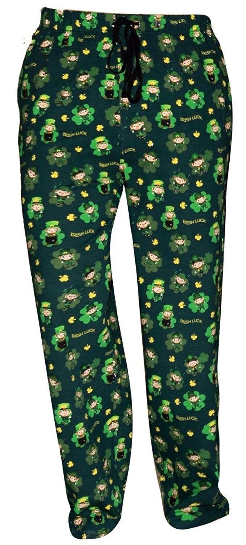Unique Baby St Patricks Day Leprechaun Matching Family Pajama Pants