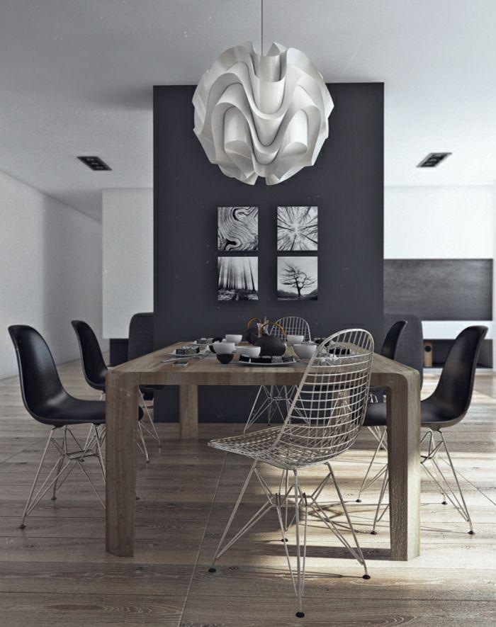 Die besten 25+ Esszimmertisch mit stühlen Ideen auf Pinterest - esszimmer moderner landhausstil
