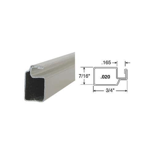 3/4 x 7/16 Aluminum (Silver) Screen Frame
