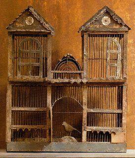 163 best birdcages vintage antique bird cage images - Cage a oiseau decorative ...