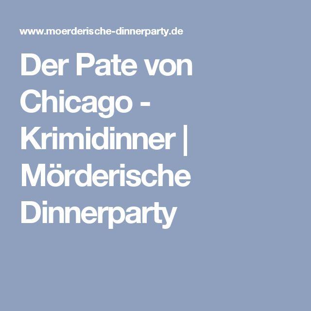 Der Pate von Chicago - Krimidinner | Mörderische Dinnerparty
