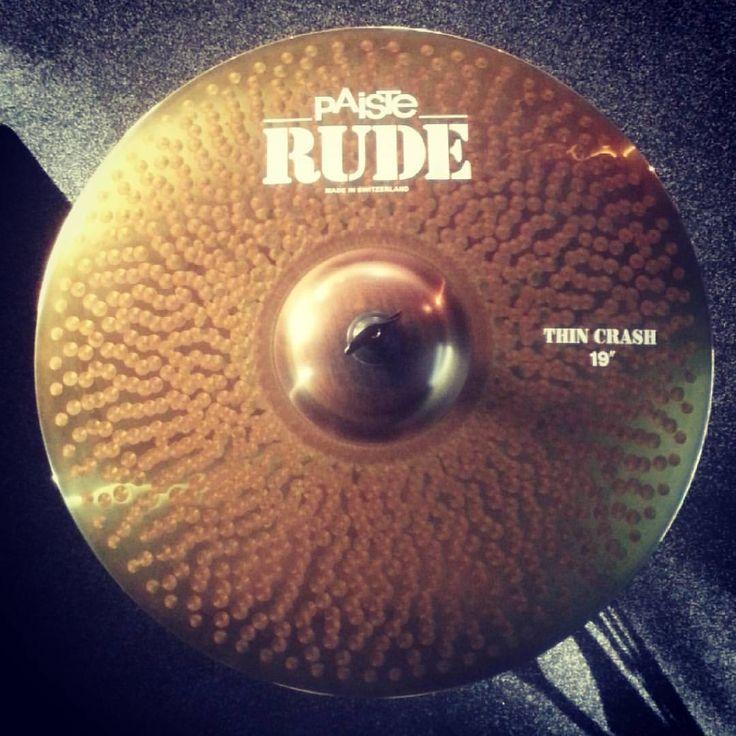 """Paiste Rude Thin Crash 19"""" ...asi jediná kovadlina s označením Thin(:"""