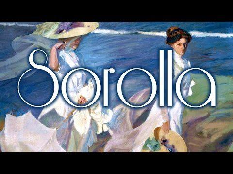 38 cuadros de Sorolla con música de Chopin HD