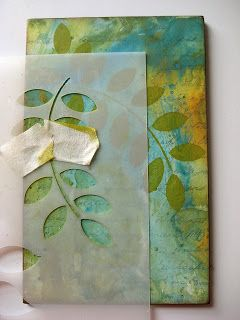 Studio 490: distress paints tutorial... Lots of layering here