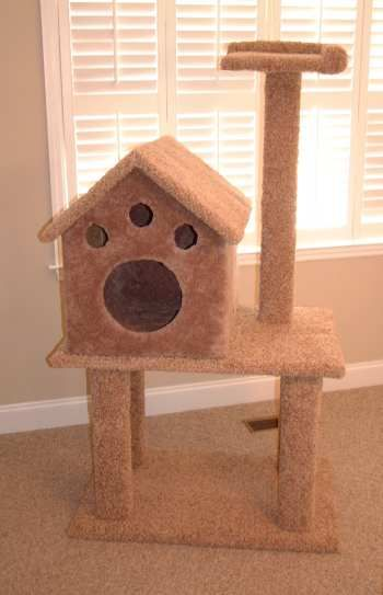 16 best images about kitty loving on pinterest cat for Cat tree blueprints
