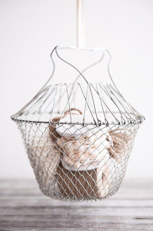 Vintage Collapsible Basket