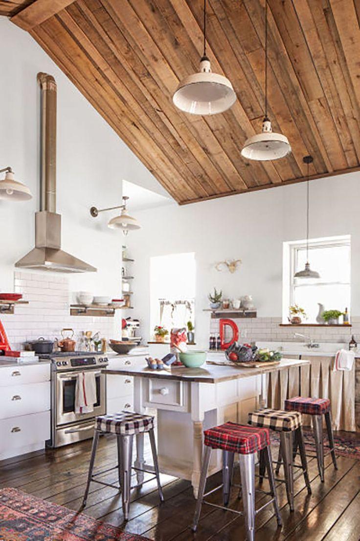 24 stunning rustic farmhouse kitchen decorating ideas