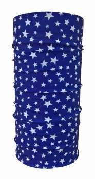 Sterne Blau Schlauchtuch