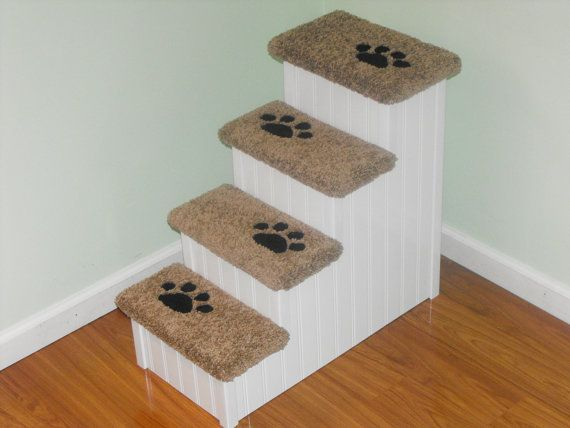24 Tall Dog Stairs 14 Wide 28 Deep. These By HamptonBayPetSteps, $149.00