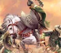 El cid y su caballo babieca -