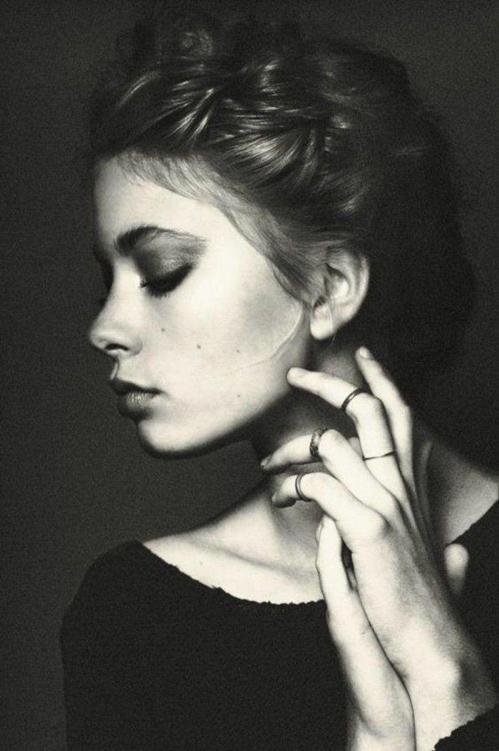 Coiffure bohème beauté féminine et allure romantique