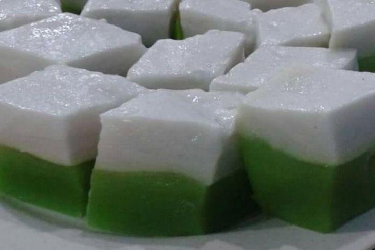 Tepung Talam Pandan Lemak Manis   Pandan, Food, Durian
