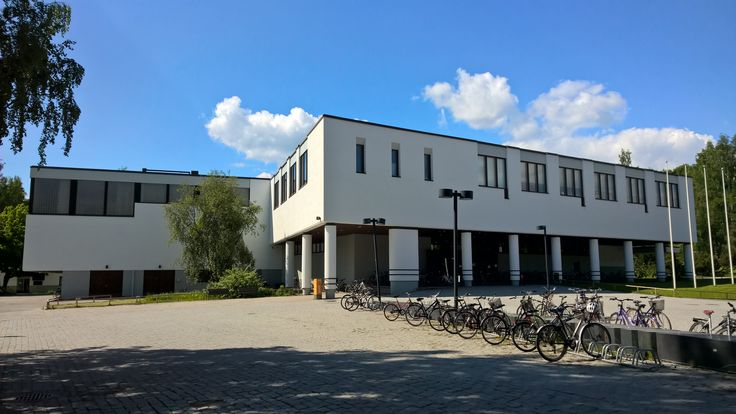 #JYU #Liikunta in Jyväskylä, Finland. Designed By #AlvarAalto.