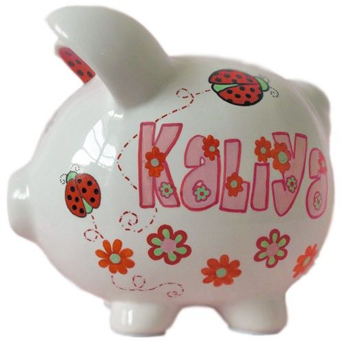 25 best images about adorable piggy banks for kids on for Childrens piggy bank
