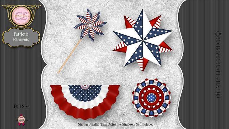 CLGraphics Patriotic Elements