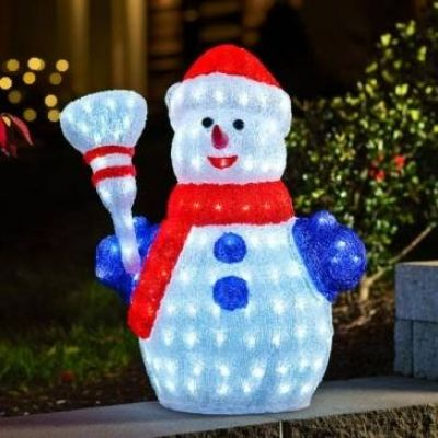 Outdoor Snowman Lights Outdoor snowman decorations from yard decor to lawn ornaments there outdoor lightup cm snowman with outdoor snowman decorations workwithnaturefo