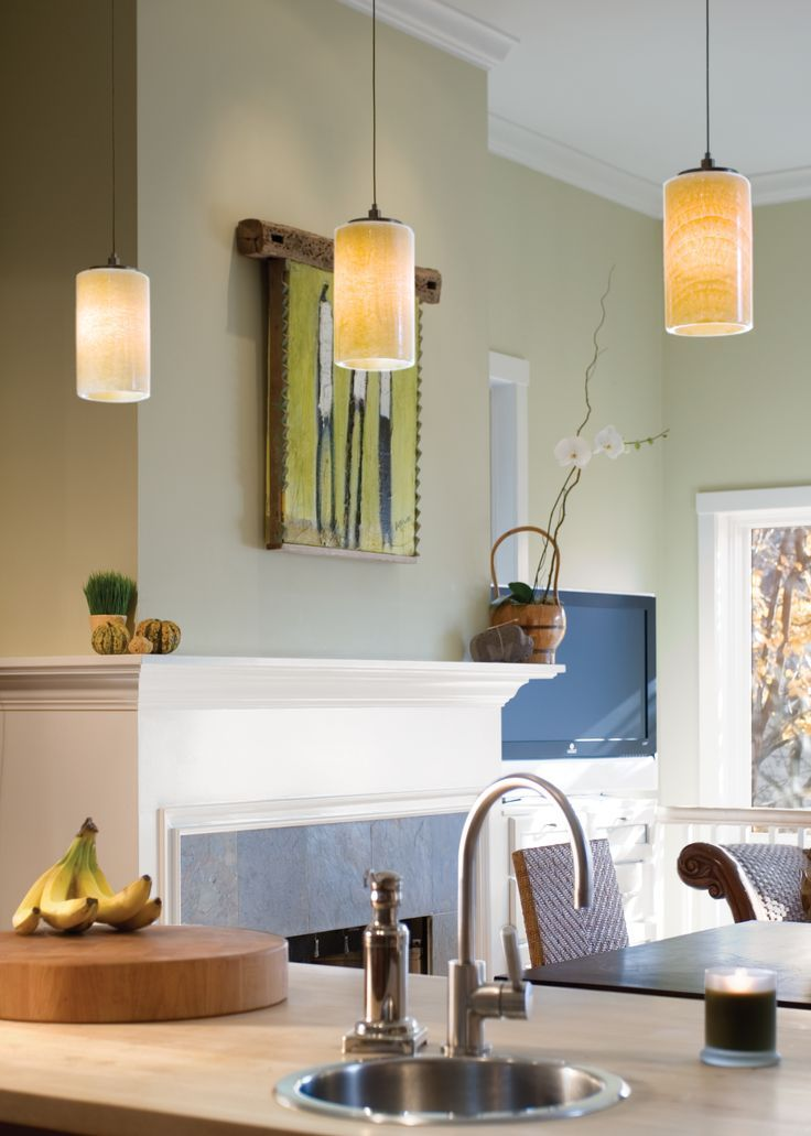Onyx cylinder pendant by lbl lighting