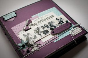 Mini Album Ensemble | «Scrap de filles