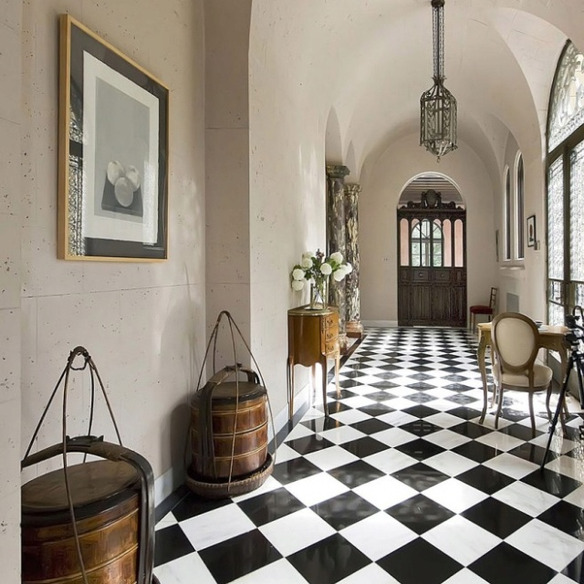 Tim Page Flooring: 40 Best Black And White Tiles Images On Pinterest