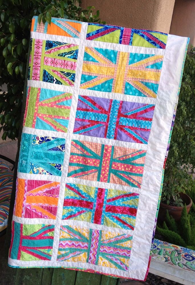 85 best union jack quilted images on Pinterest   Union jack, Flag ... : union jack quilt - Adamdwight.com
