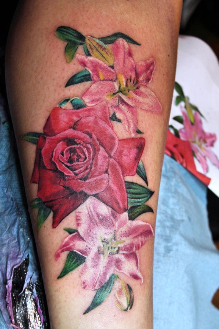 17 best images about mirek vel stotker flower tattoos on for Rose flower tattoo designs
