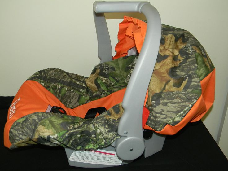 3 Piece Set Mossy Oak Camo Infant Car Seat Cover And