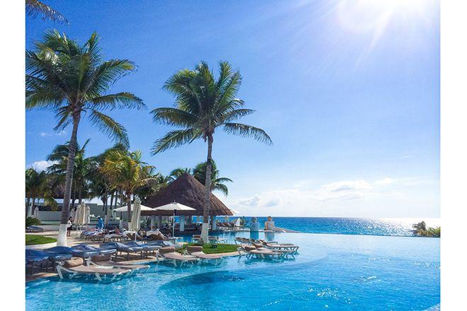 """夏は断然""""海派""""の私。休みができると国内外のビーチへ繰り出したくなります。なかでも忘れられない極上リゾート、メキシコ・カンクンの滞在記をお届けします。"""