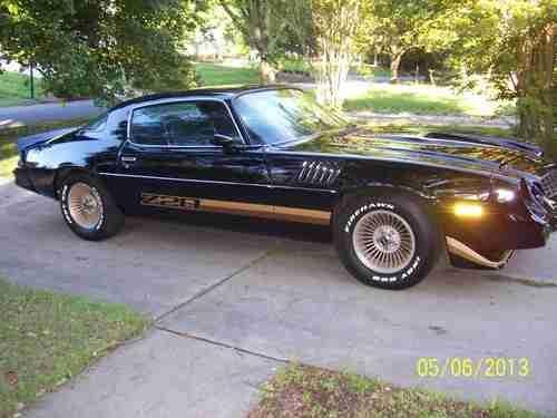 79 Camaro Z28 for Sale | 79 FACTORY BLACK BUILD SHEET 99,000 MILES Z28 # 350 AUTO A/C 67 68 69 ...