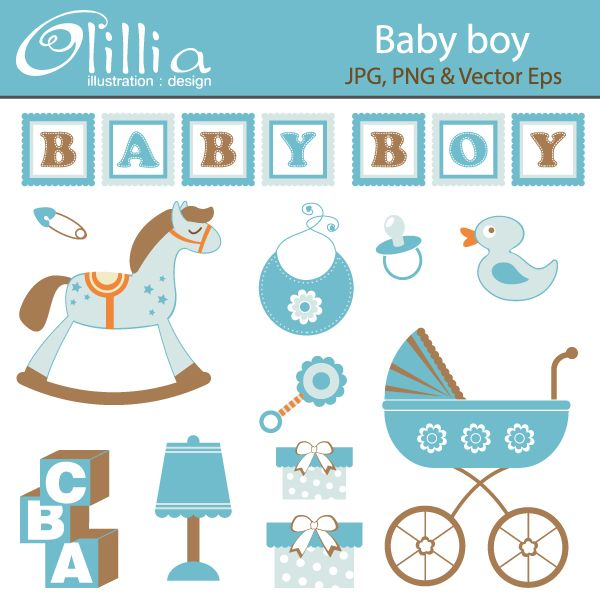 84 best images about baby boy shower on pinterest   baby shower ... - Baby Rocking Horse Coloring Pages