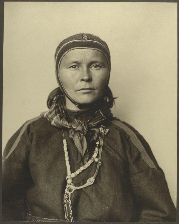 Une Lapone. PHOTOS. Des portraits d'immigrés arrivant aux États-Unis il y a plus de 100 ans