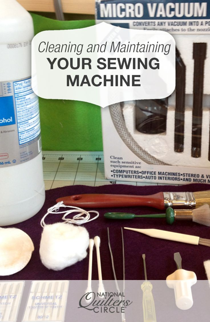 Cleaning and Maintaining Your Sewing Machine