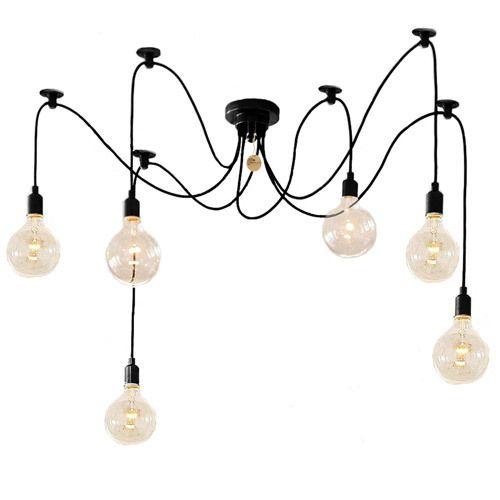 replica adolf loos edison bulb chandelier retro pendant