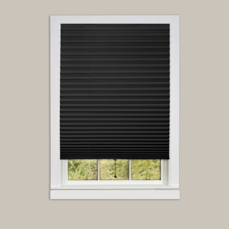 Achim 1-2-3 6-pack of Room Darkening Pleated Window Shades